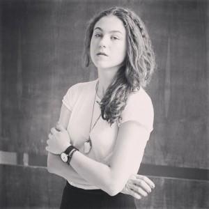 Type designer Maria Doreuli